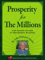 Prosperity for the Millions